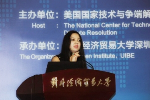 Chitranjali Negi at 16th International Forum on Online Dispute Resolution in Beijing, China