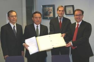 Japón firmó el Convenio de La Haya de 1980 sobre los Aspectos Civiles de la Sustracción Internacional de Menores.